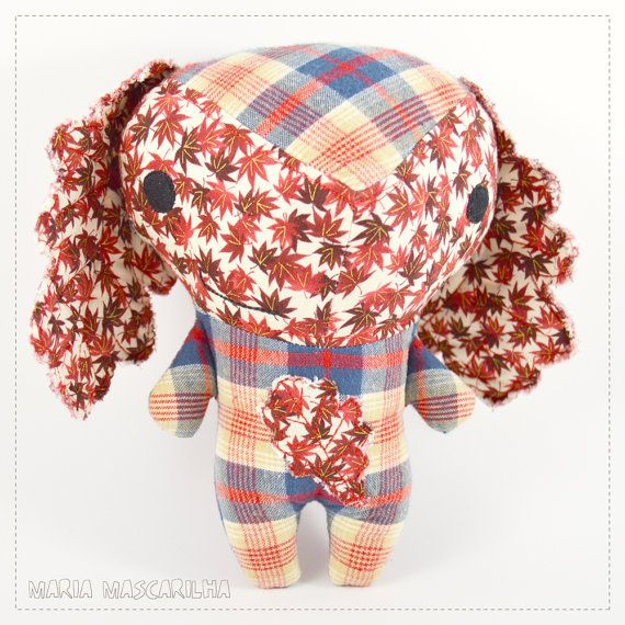 Jolly Bugalho  stuffed toy for children red by MariaMascarilha