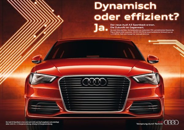 AUDI - A3 Sportback Etron on Behance