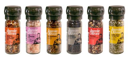 Jamie Oliver Products | Food and Kitchenware | Herbs and spices; not available in the US yet? What the what? Jamie Oliver's Szechuan pepper, chili and ginger salt