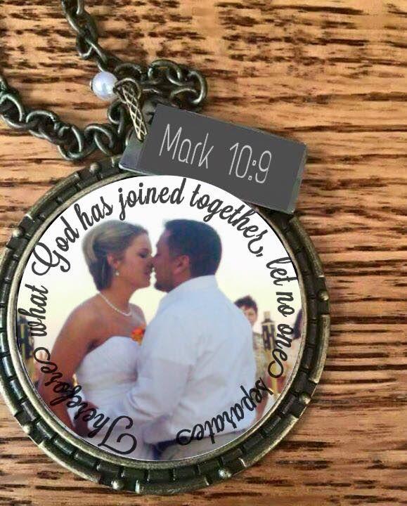 13 best personalized pendants images on pinterest antique gold keepsake wedding bride groom gift personalized custom photo aloadofball Images