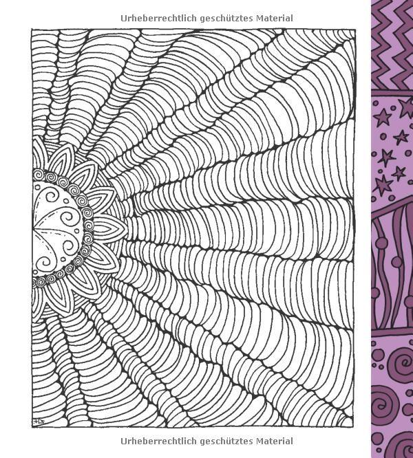 zencolor meditation 100 tangles zum ausmalen loslassen ausmalen f r erwachsene. Black Bedroom Furniture Sets. Home Design Ideas