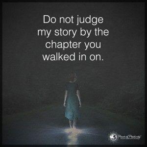 pues no. no me juzgues