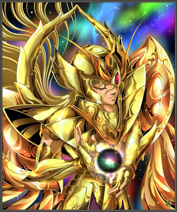 Saint seiya Virgo Shaka God cloth soul of gold