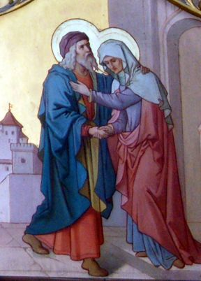 Today is the Feast of St. Joachim and St. Anne, parents of the Blessed Virgin Mary