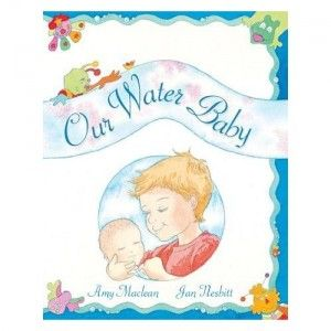 Books to prepare older children for a homebirth or waterbirth.