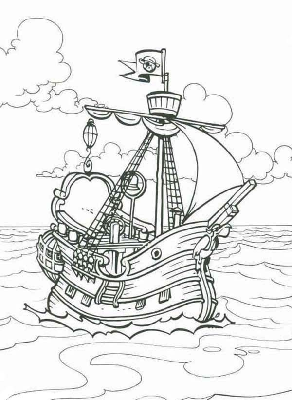 36 best icolor ships images on pinterest coloring for Coloring pages cruise ship