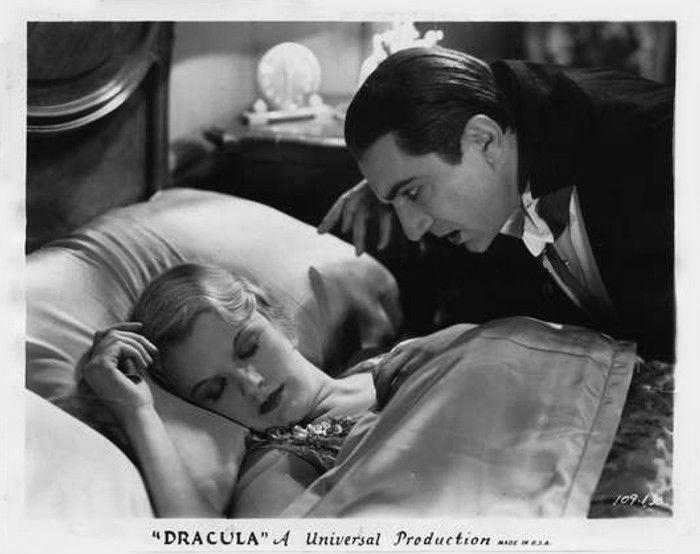 "don56: ""Helen Chandler and Bela Lugosi in ""Dracula"" (1931) """