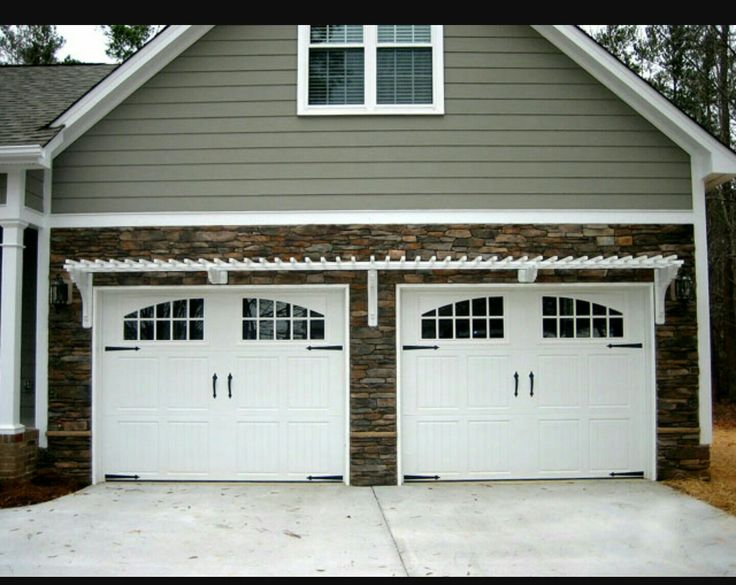 Single Car Garage Doors. Double Car, Two Door \u2013 ArborOriginal Single Car  Garage