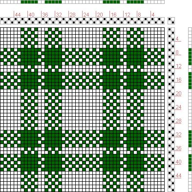 Figure 1704, A Handbook of Weaves by G. H. Oelsner, 2S, 2T - Handweaving.net Hand Weaving and Draft Archive