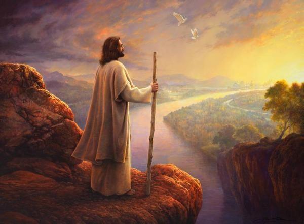 """Hope on the Horizon,"" a Greg Olsen painting."