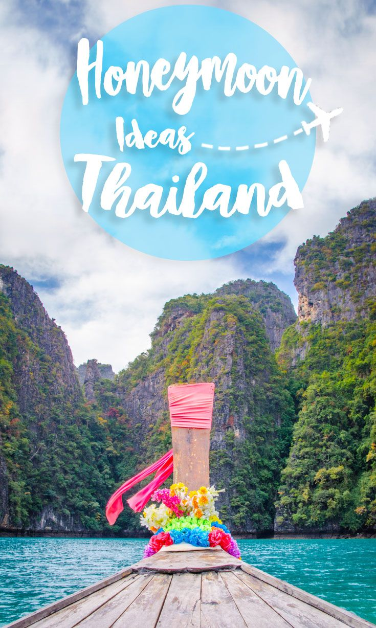 Complete guide to planning a Thailand honeymoon. Suggested honeymoon in Thailand itinerary, destinations for a Thailand honeymoon, and more. via @gettingstamped