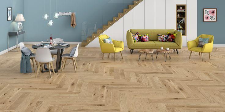 Wooden floor Baltic Wood Miniline