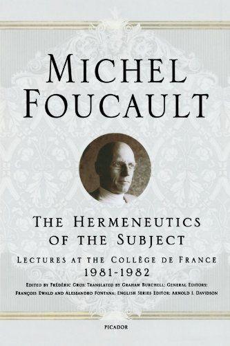 micheal foucault Michel foucault dictó dos cursos en el collège de france sobre la historia del nacimiento de la biopolítica estos cursos en el collège de france han demostrado.