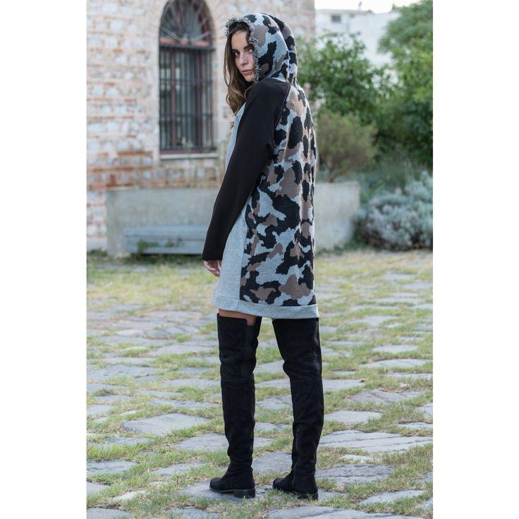 By Nadia rapti ,collection winter 14-15' ,military sweatshirts ..