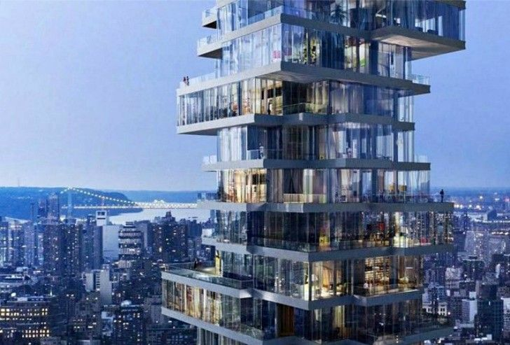 Is this Chinese building a knockoff of Herzog and de Meuron's Jenga Tower?