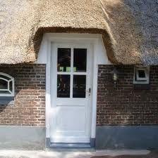 voordeur of achterdeur met roedeverdeling