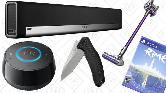 Todays Best Deals: SONOS PLAYBAR Dyson V6 Kershaw Knives and More