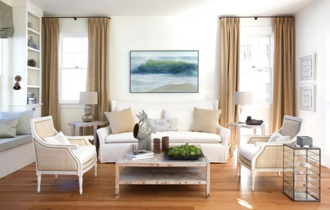 Focal point art. Photo by Eric Roth!: Interior, Ideas, Livingrooms, Living Rooms, Style, Family Room, House, Photo, Design