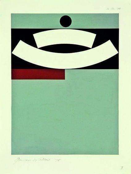 Gordon Walters , UNTITLED NO. 1, 1975