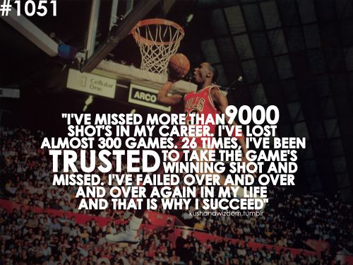Inspirational Quotes About Failure In Sports: Amazing Quote From Michael Jordan