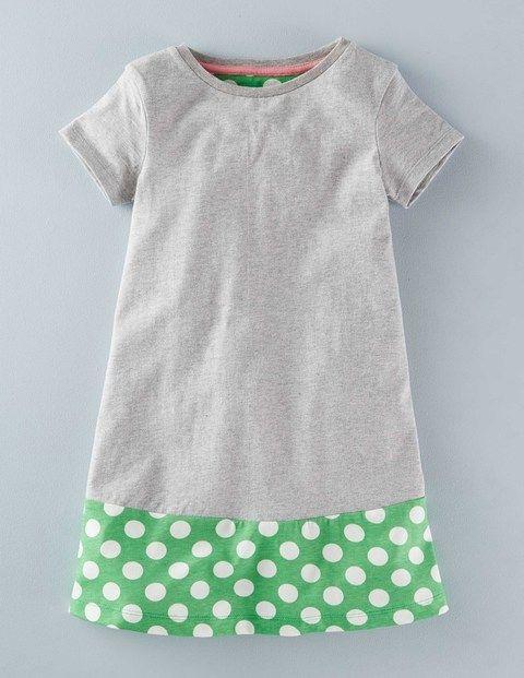 colourblock swing dress kleinkind maedchen kleider t shirt kleid