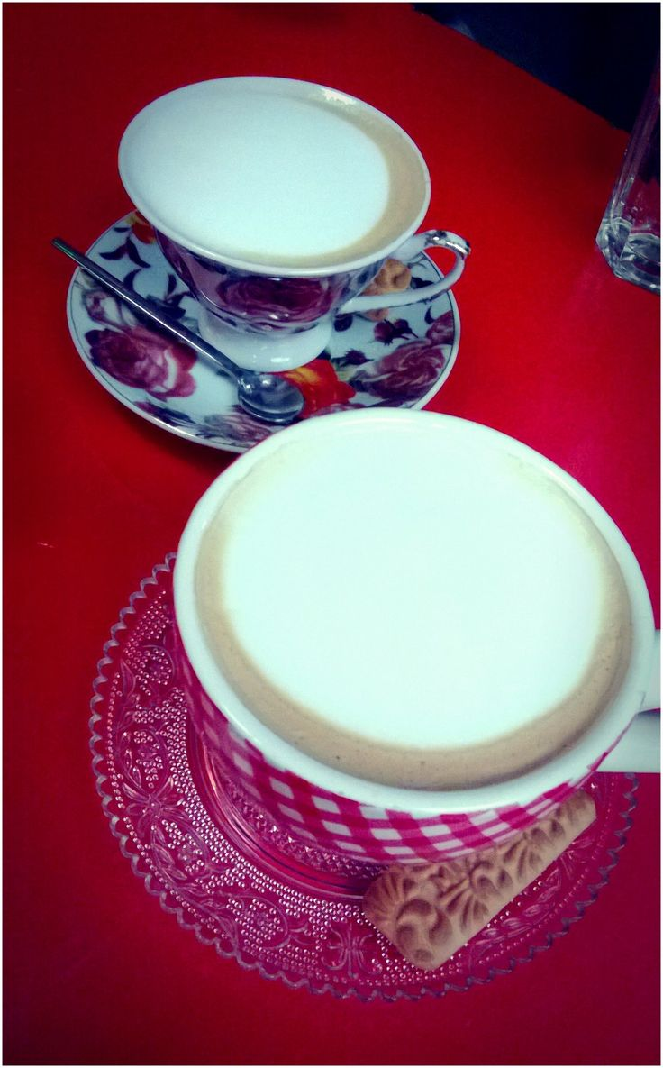 #coffee #cappuccino #winter