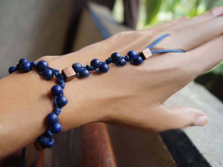 Excited to share the latest slave bracelet to my #etsy shop: Lapis Lazuli Slave Bracelet, Gemstone Bracelet, Boho Bracelet, Gemstone Hand Jewelry, 1 Piece http://etsy.me/2EHvbdD #jewelry #bracelet #blue #slidelock #gemstone #girls #lapislazuli #yes #copper