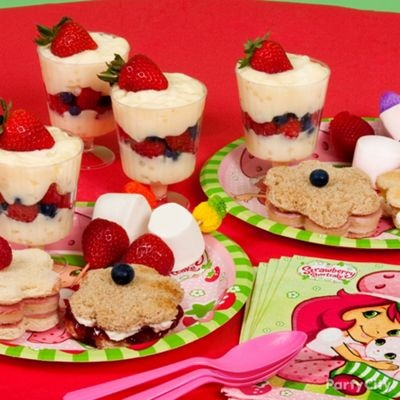 Girls Party Food Ideas Gallery