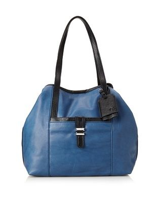 65% OFF Charlotte Ronson Women's Classic De-Constructed Tote Bag (Denim)