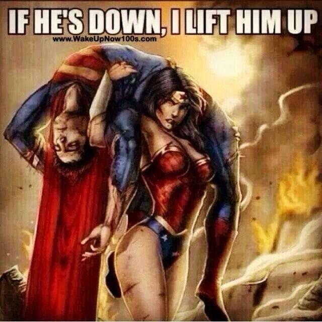 Wonder Woman.                                                                                                       .