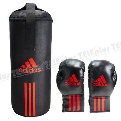 Adidas ADIBACJP Çocuk Boks Seti - 6-oz siyah Pu duratec suni deri boks eldiveni.  60x20 Cm boyutlarında boks torbası Üclü naylon kayışla sabitleme - Price : TL149.00. Buy now at http://www.teleplus.com.tr/index.php/adidas-adibacjp-cocuk-boks-seti.html