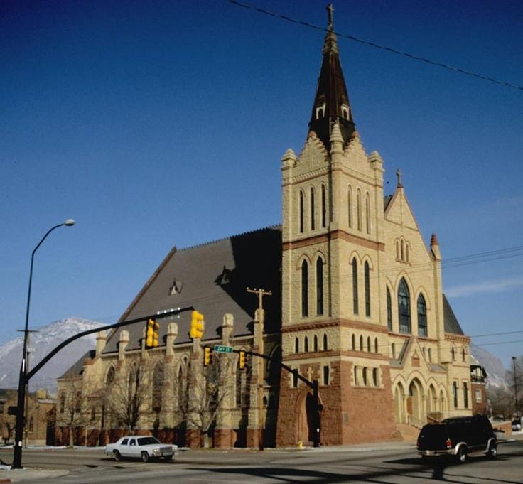 St. Joesephs Church - Ogden, Utah - Where my husband and I were married. <3