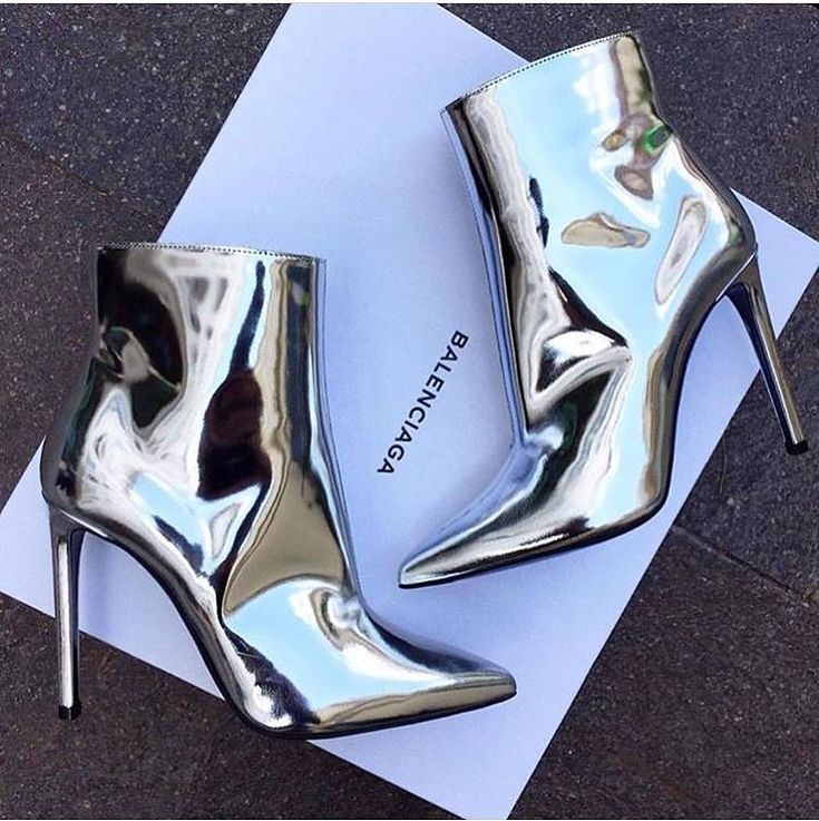 Style stepping into the future! The ankle boot version of @kimkardashian…