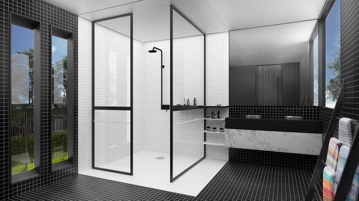 Steel Framed Showers