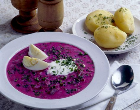 Traditional Lithuanian Recipes. Lots of recipes (*Bacon Sauce*, for example)!