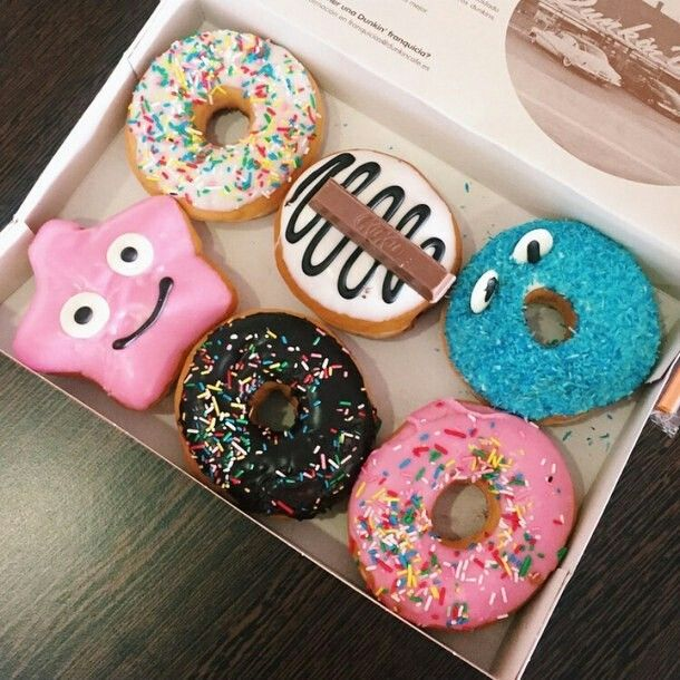 The happiest donuts