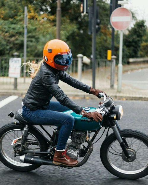 "motomood: ""Honda CG125 cafe racer """