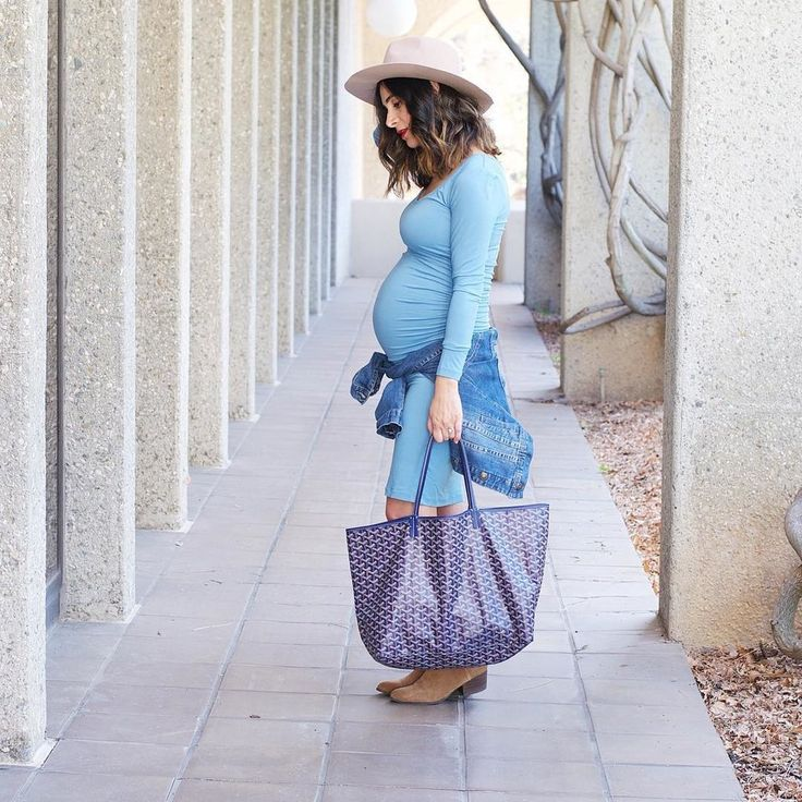 22 Expectant Moms Show You How to Look as Stylish as Ever This Spring