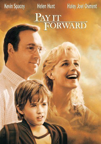 Amazon.com: Pay It Forward: Kevin Spacey, Helen Hunt, Haley Joel Osment, Jay Mohr: Movies & TV