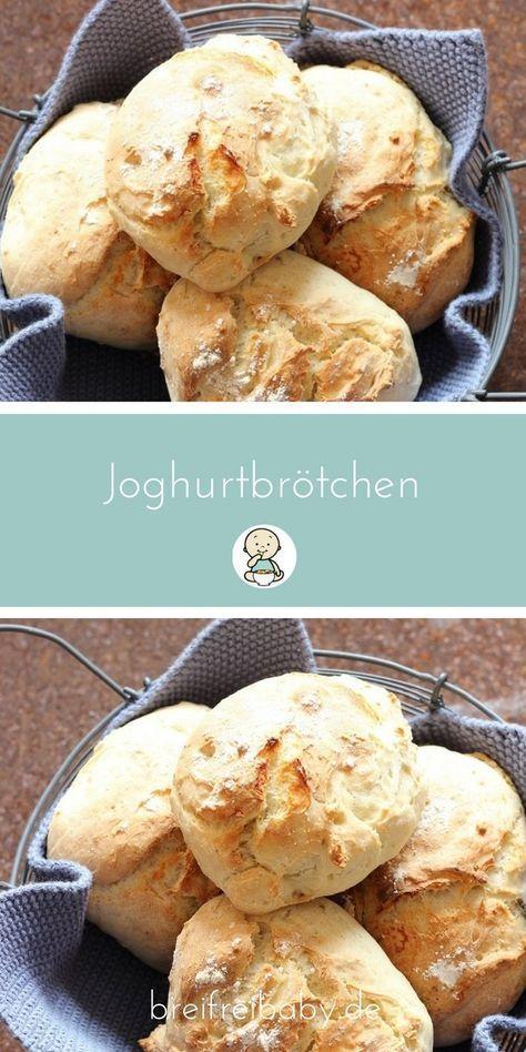 Joghurtbrötchen in nur 25 Minuten – das perfekte Sonntagsfrühstück   – Brot und Brötchen: Rezepte