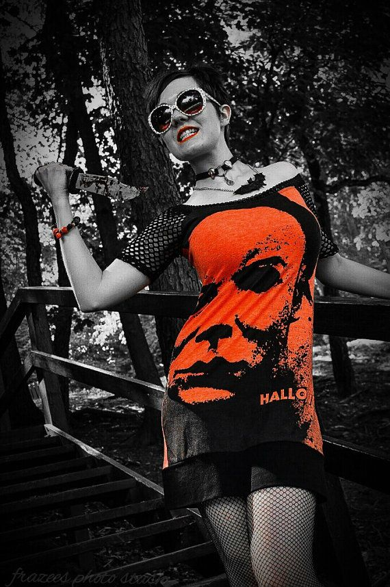 Hey, I found this really awesome Etsy listing at https://www.etsy.com/listing/108585106/halloween-horror-shirt-dress-alternative