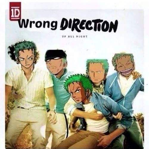 """Zoro where did you go? Oh... - Roronoa zoro One piece << yeah """"up all night"""" trying to get to the right place XD"""
