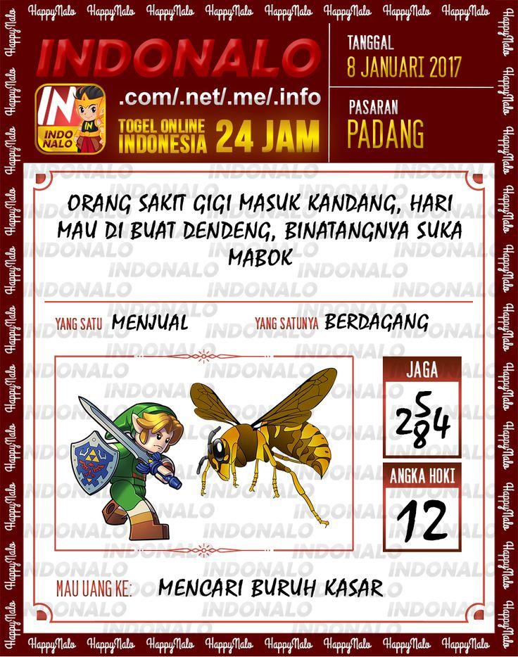 Kode Jaga 4D Togel Wap Online Live Draw 4D Indonalo Padang 8 Januari 2017
