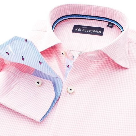 The suave pink has an answer to all your Monday blues! Shop the 'Pink Hounds' at 16Stitches.com #monday #mondayblues #menswear #mensstyle #mensfashion #summer #style #fashion #trend #trendy #shirts #luxury #formal #fb #formals #formalwear #classy #classic #classymen #dapper #dappermen #instalike #instagood #meninpink #pink