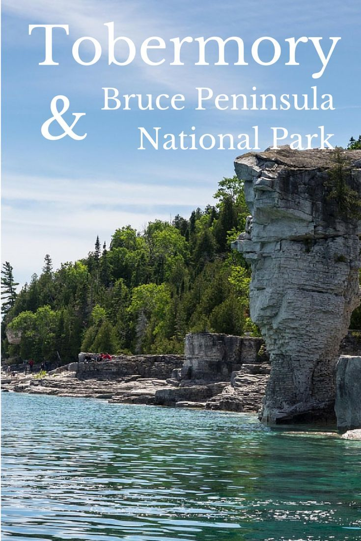 Tobermory and the Bruce Peninsula National Park is a beautiful part of Northern Ontario that everyone absolutely needs to go explore. The crystal clear water alone will blow you away.