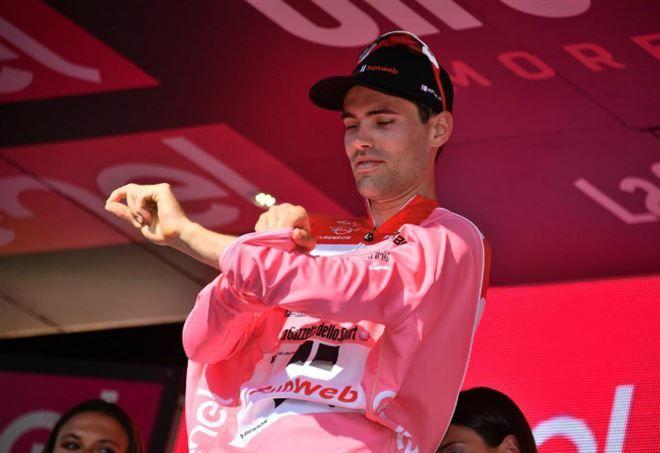 Tom Dumoulin ancora maglia rosa