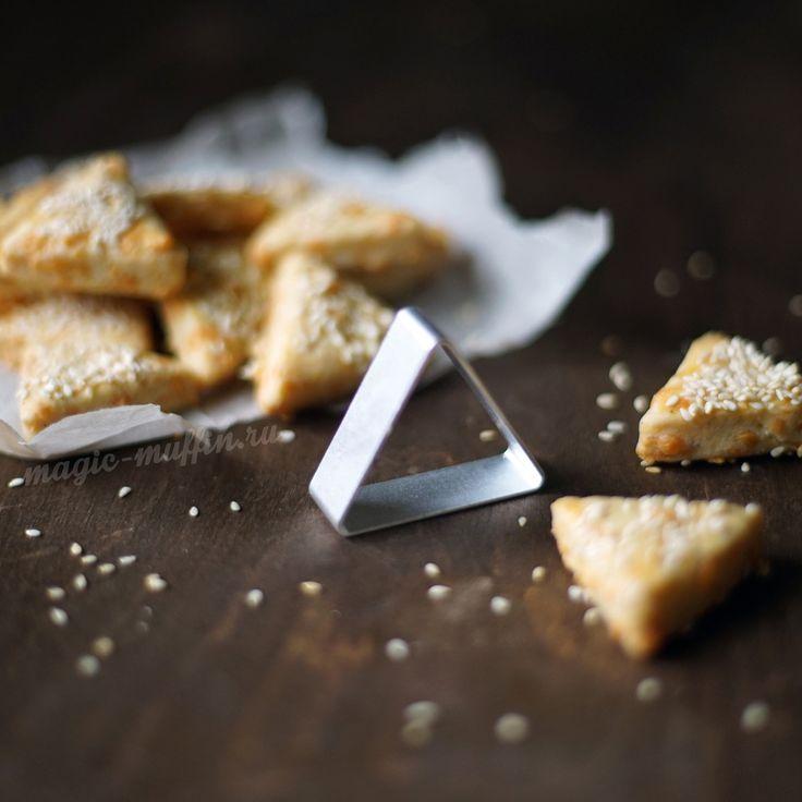 Форма для печенья Треугольник cookies triangle cheesy