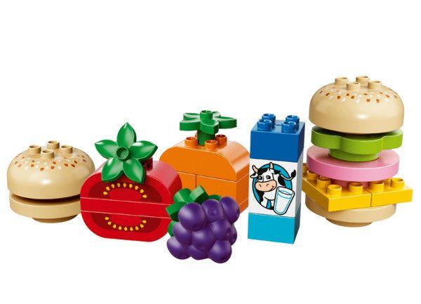 PICNIC CREATIV LEGO DUPLO (10566) Indruma-l pe copilul tau sa creeze o selectie uimitoare de gustari delicioase cu setul LEGO® DUPLO® Picnic creativ!