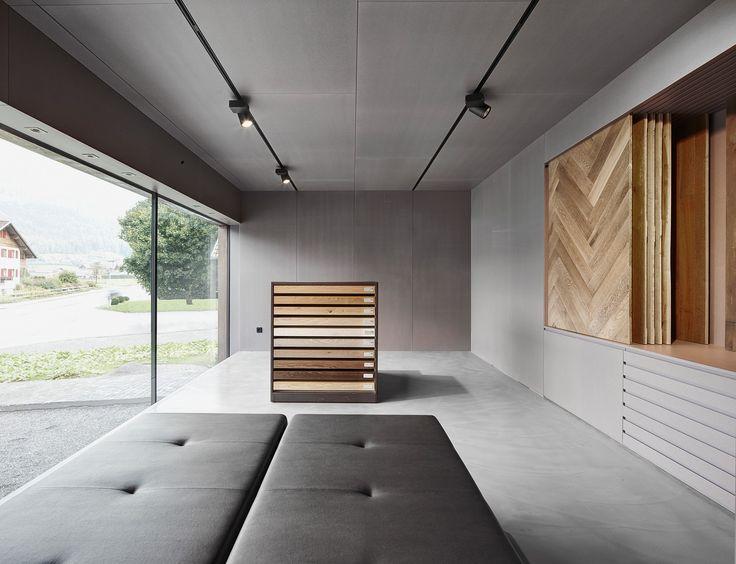 Popular BauNetz Architektur Meldung vom Haus mit Schauraum Wohnhybrid in Vorarlberg Aktuelle Architekturmeldungen aus dem In und Ausland