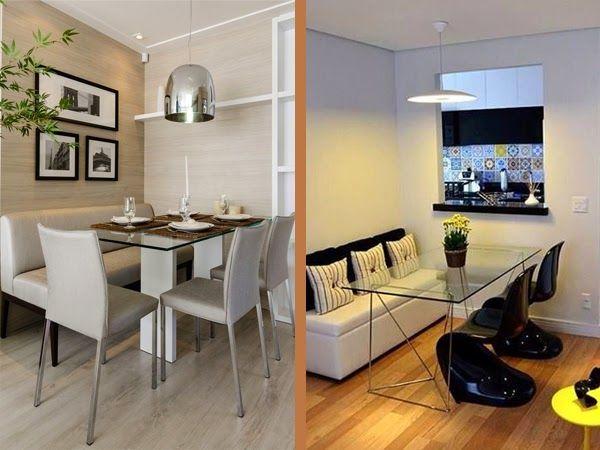 Sala De Jantar Pequena Pontofrio ~ mesa de jantar com banco encostado na parede  Pesquisa Google
